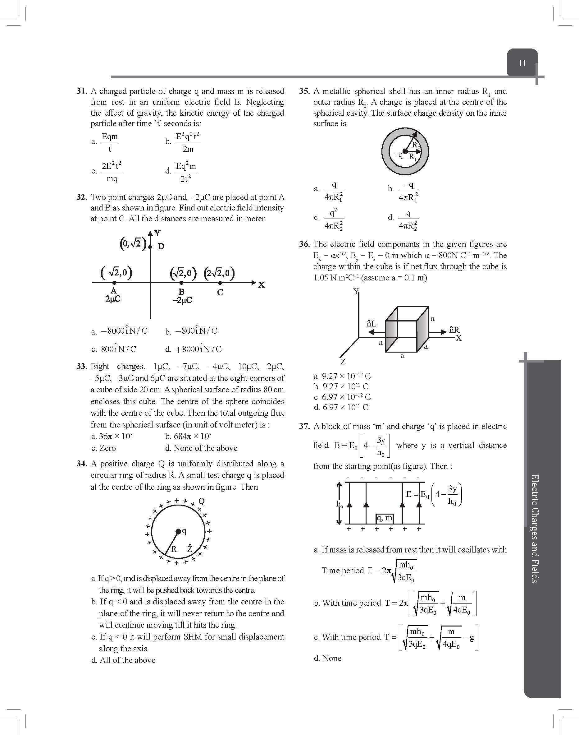 Objective Gear Up Physics Sample 1